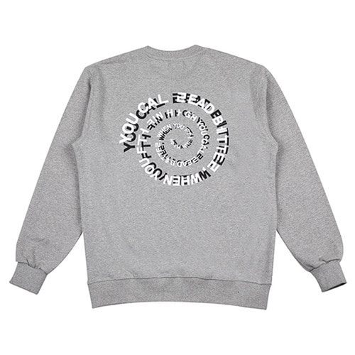[하운드빌] ACID crewneck grey