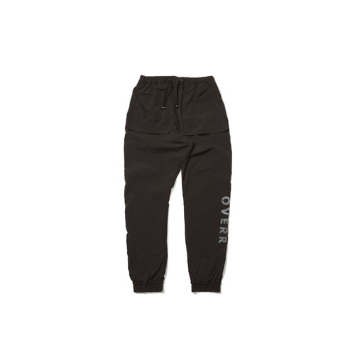 [OVERR] 18FW GRAY JOGGER PANTS