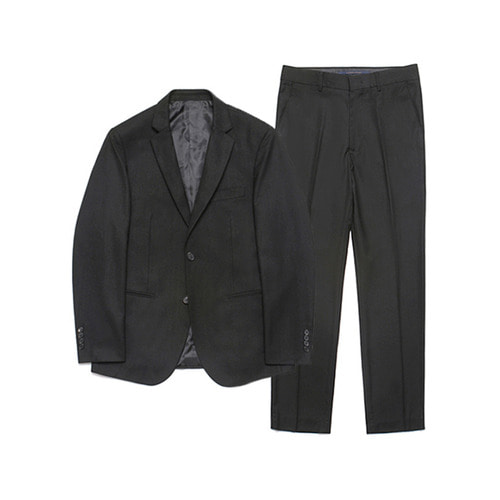 [LAFUDGESTORE] Metier Tapered Set-up Suit_Black