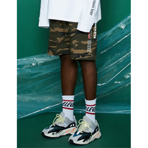 [Nine Eleven] NE International shorts -Camo