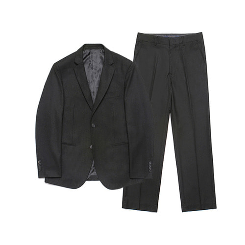 [LAFUDGESTORE] Metier Wide Set-up Suit_Black