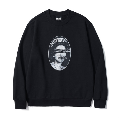 [BRAVADO] SP SAVE THE QUEENS SWEATSHIRT BK (BRENT1797)