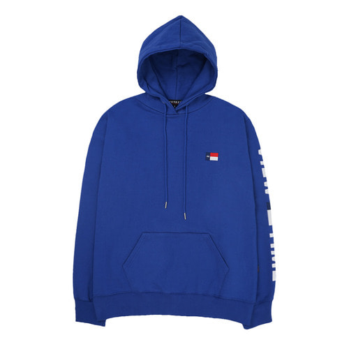 [VETEZE] Time Logo Hood (blue)