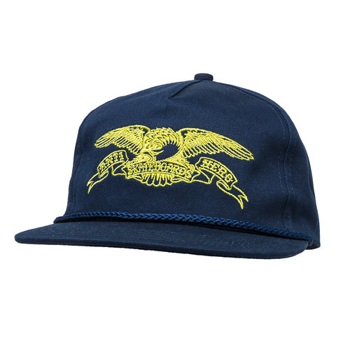 [Anti Hero] BASIC EAGLE SNAPBACK - NAVY/GOLD