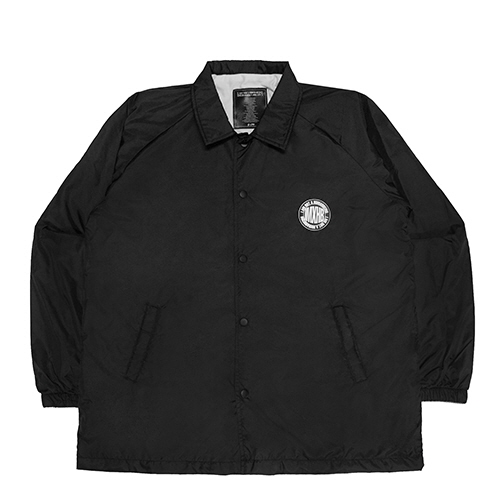 [18FW] IMXHB CIRCLE LOGO COACH JACKET - BLACK