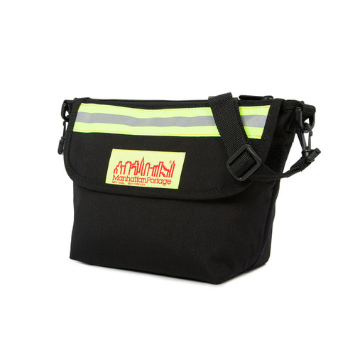 [Manhattan Portage] COLLEGE PLACE HANDLEBAR BAG W/VINYL LINING - BLACK