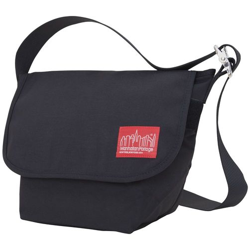 [Manhattan Portage] VINTAGE MESSENGER BAG (SM) - BLACK