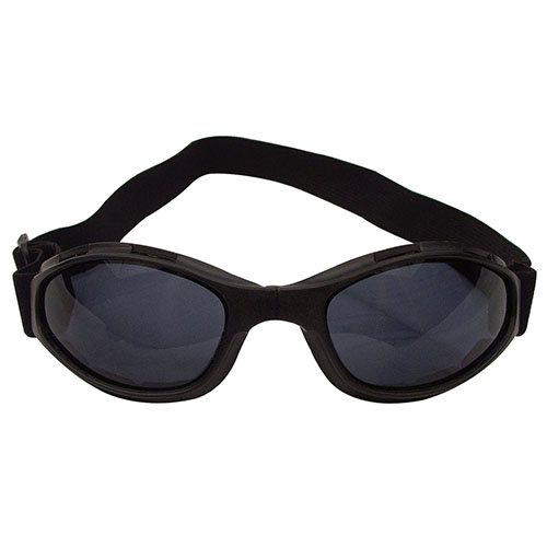 [Rothco] Rothco Collapsible Tactical Goggles - Black