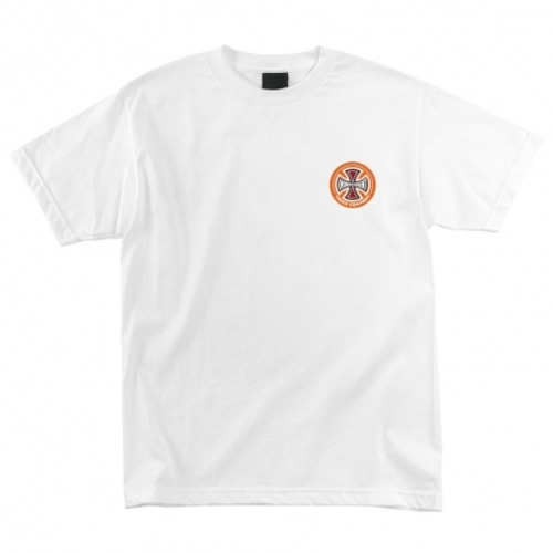 [Independent] CAB DRAGSTER S/S REGULAR T-SHIRT - WHITE
