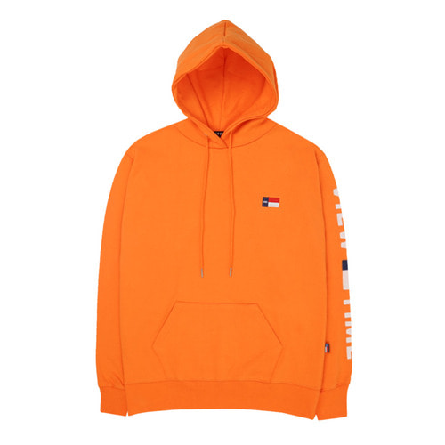 [VETEZE] Time Logo Hood (orange)