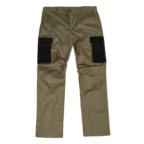 [Feel Enuff] PATCH CARGO PANTS - KHAKI