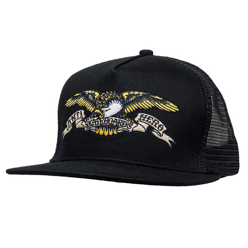 [Anti Hero] EAGLE EMB TRUCKER  - BLACK
