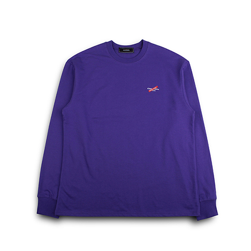 [EINEN]Distinction Long T-Shirts Purple
