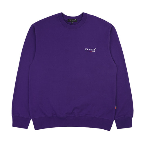 [VETEZE] Small Logo MTM (purple)