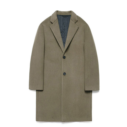 [LAFUDGESTORE] Wool Single Coat_Major Brown