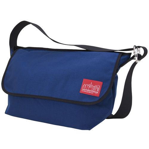 [Manhattan Portage] VINTAGE MESSENGER BAG (LG) - NAVY