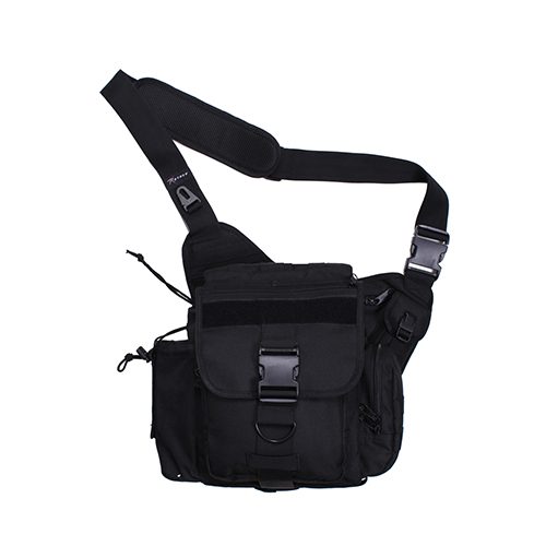[Rothco] Rothco XL Advanced Tactical Shoulder Bag - Black