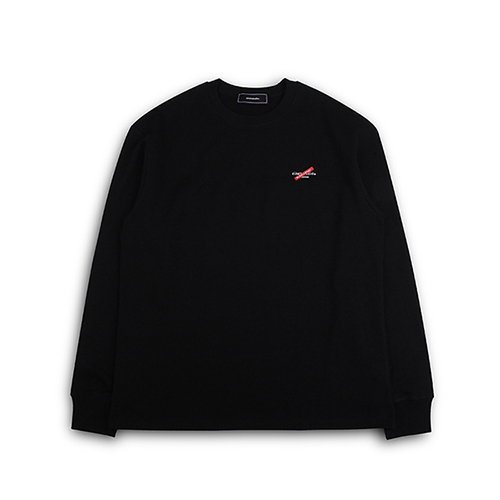 [EINEN]Distinction Long T-Shirts Black