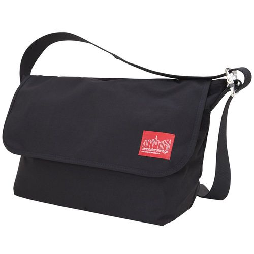 [Manhattan Portage] VINTAGE MESSENGER BAG (LG) - BLACK