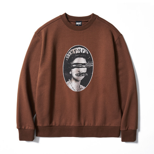 [BRAVADO] SP SAVE THE QUEENS SWEATSHIRT BR (BRENT1798)