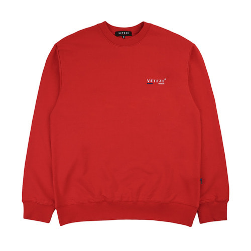 [VETEZE] Small Logo MTM (red)