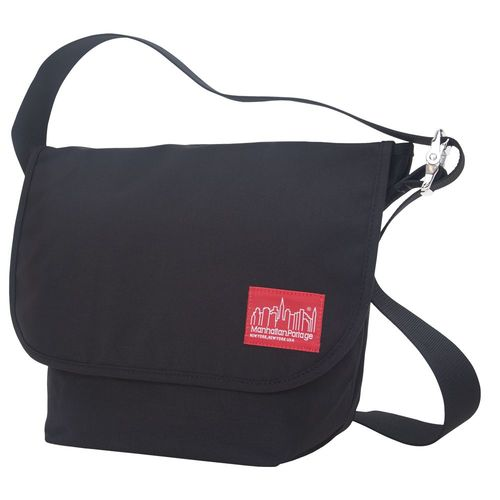 [Manhattan Portage] VINTAGE MESSENGER BAG (MD) - BLACK