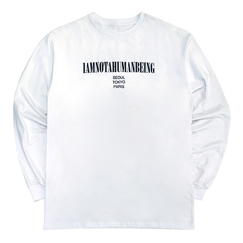 [18FW] INTERNATIONAL LONG SLEEVE T SHIRTS - WHITE