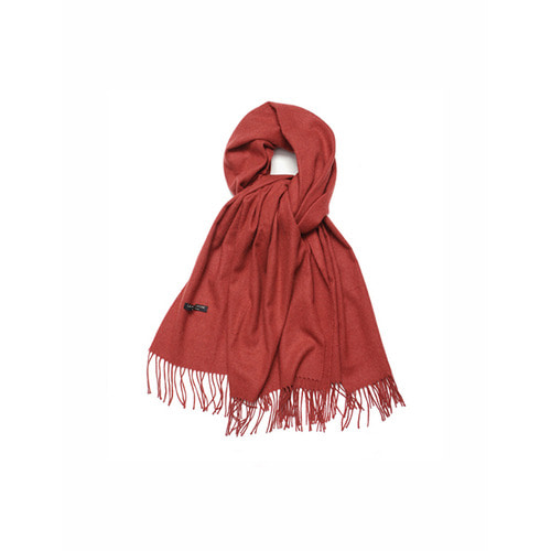 [LAFUDGESTORE] Cashmere low Muffer_The Red