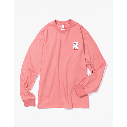 [Have a good time] MINI FRAME L/S TEE - INDIE PINK