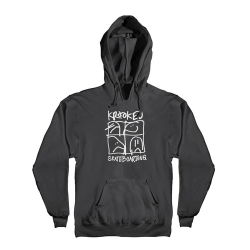 [Krooked]  KD ULTRA 2 PULLOVER HOODED SWEATSHIRT - BLACK