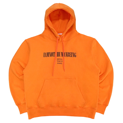 [18FW] INTERNATIONAL HOODIE - ORANGE