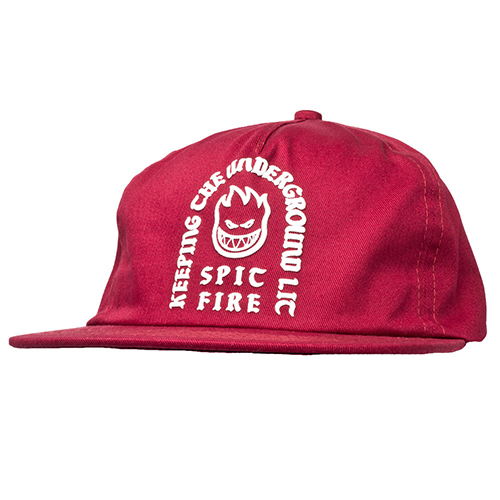 [Spitfire] STEADY ROCKIN' SNAPBACK - RED