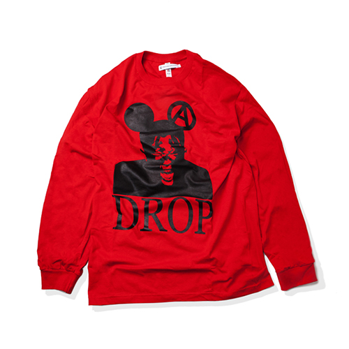 [KING] DROP Long Sleeve -Red