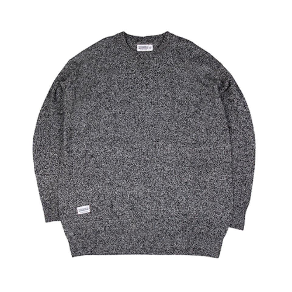 [하운드빌]HDVL LOOSE FIT knit wear black
