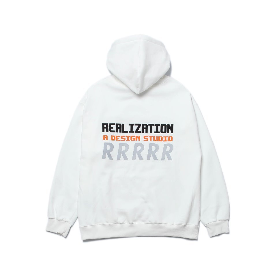[Realization] RDS Reflective 'R' Logo Hoodie [IVORY]