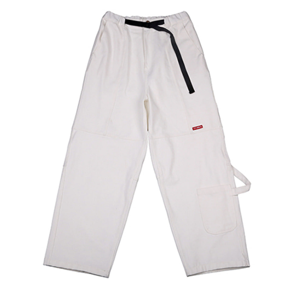 [AJOBYAJO] Painter Denim Pants [White]