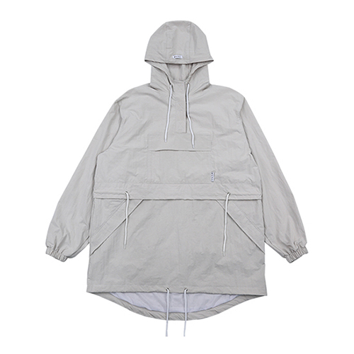 [AJOBYAJO FINK LABEL] CH Sunset Logo Anorak [Cream]