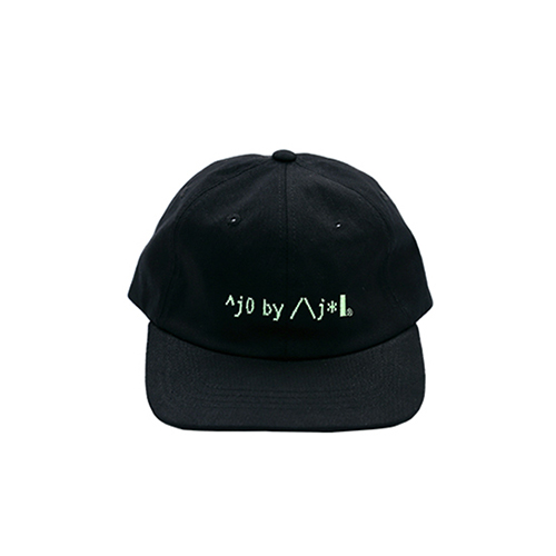 [AJOBYAJO FINK LABEL] Logo Twill Cap [Black]