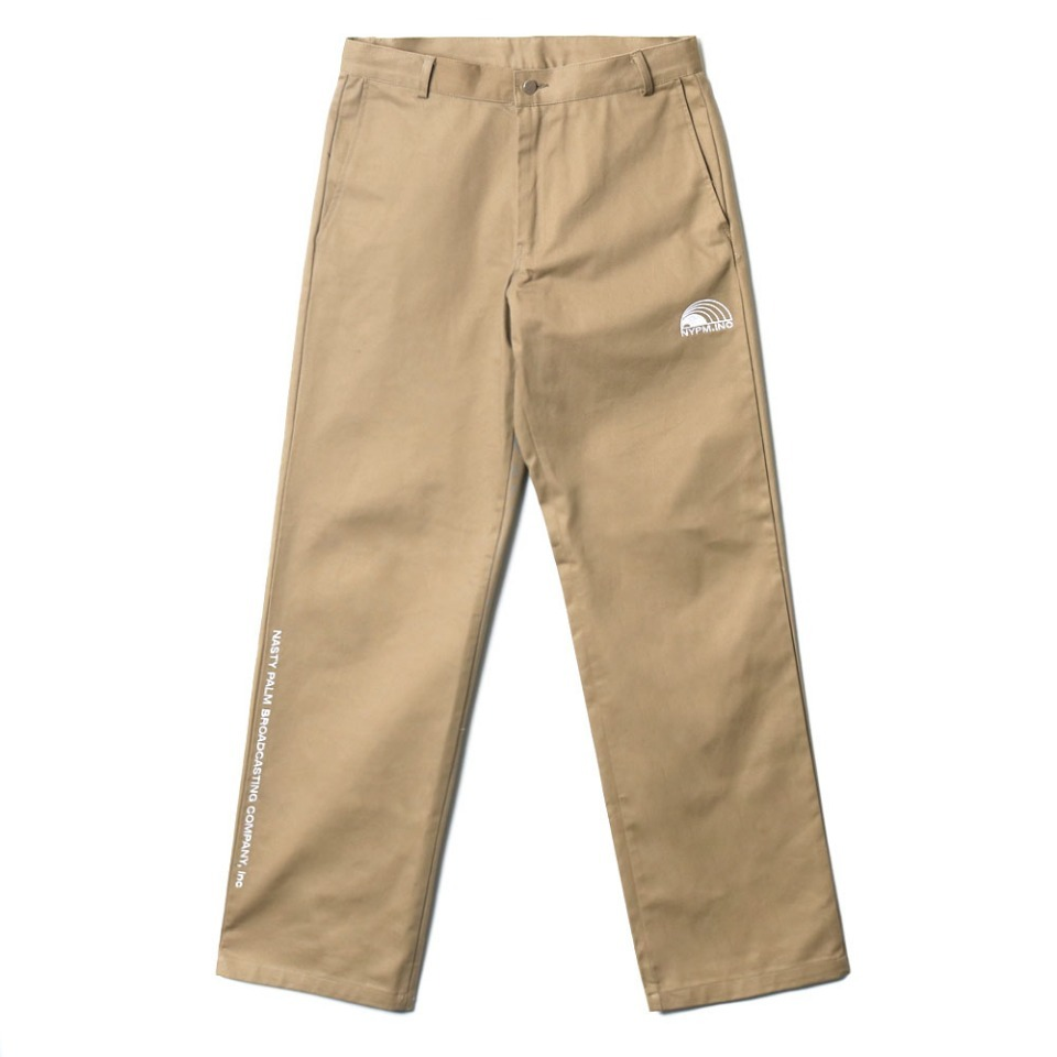 [NP] NYPM REPORTER PANTS BEIGE (NP18A065H)