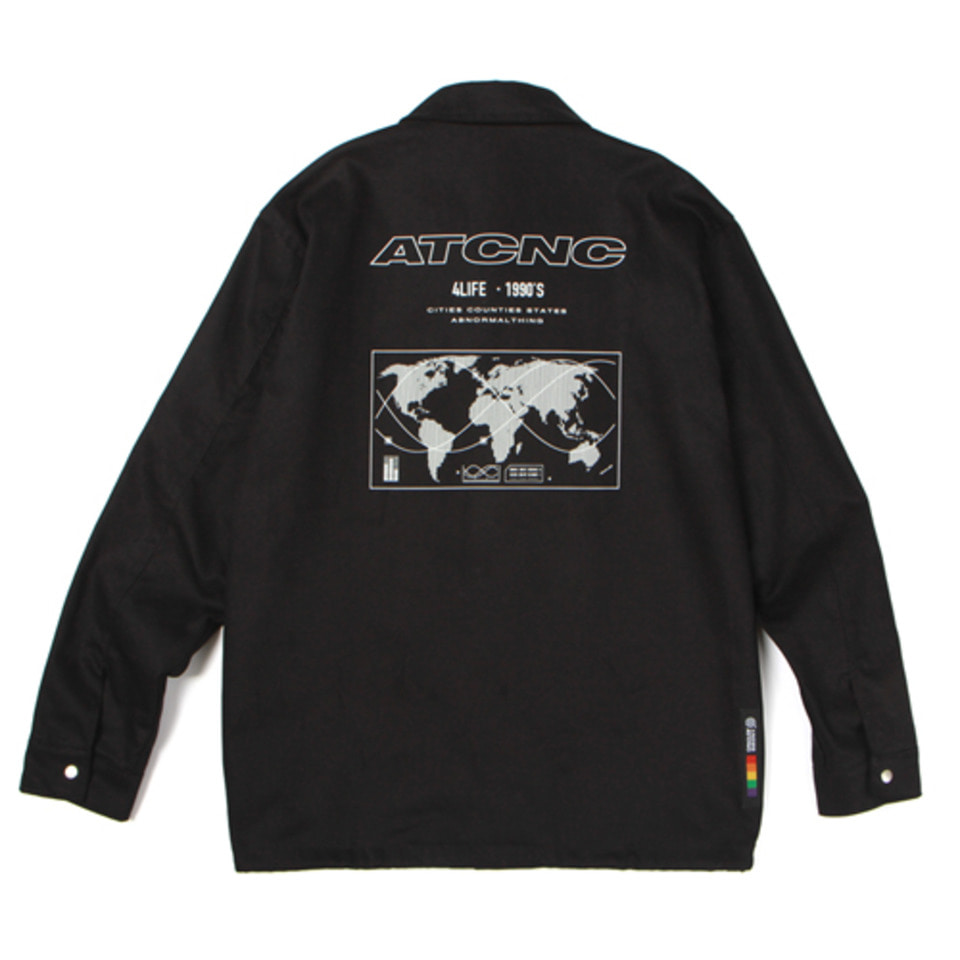 [앱놀머씽] 18 ATCNC Coach Jacket (Black)