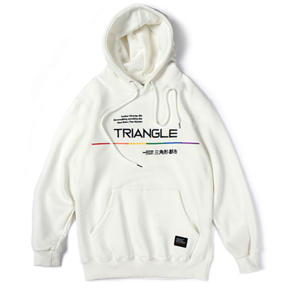 [앱놀머씽] 18 Triangle Hood (White)