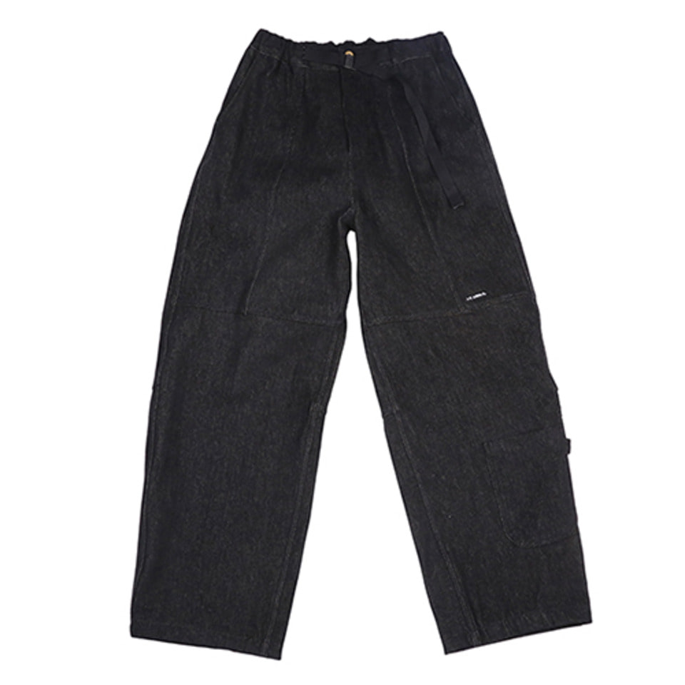 [AJOBYAJO] Painter Denim Pants [Black]