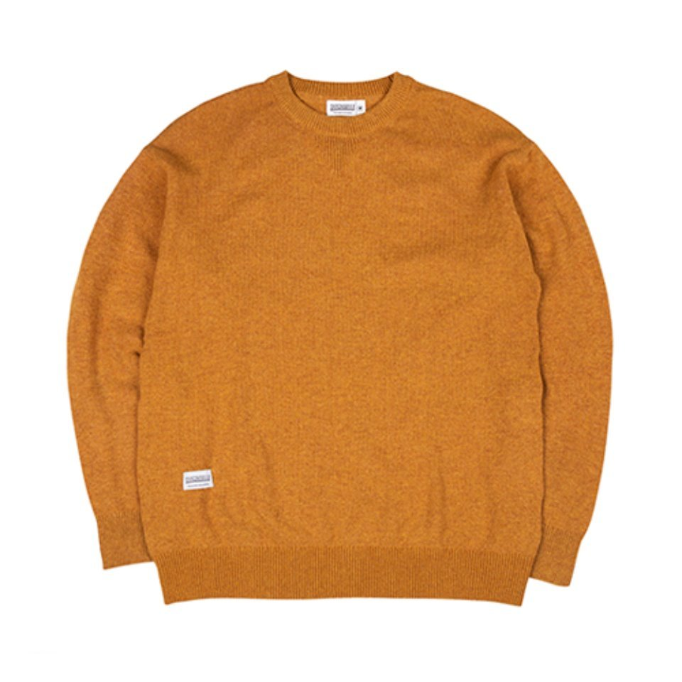 [하운드빌]HDVL LOOSE FIT knit wear mustard