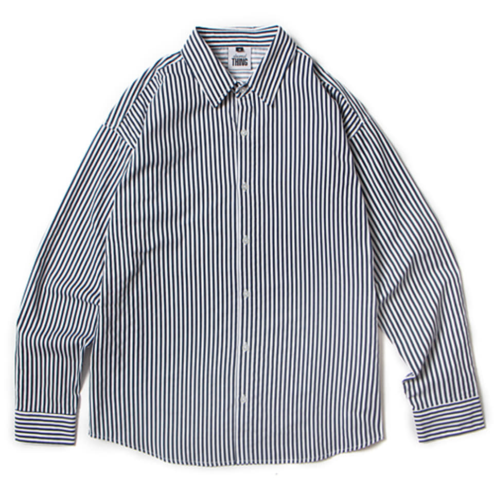 [앱놀머씽] 18 ATCNC Stripe Shirts (Navy)