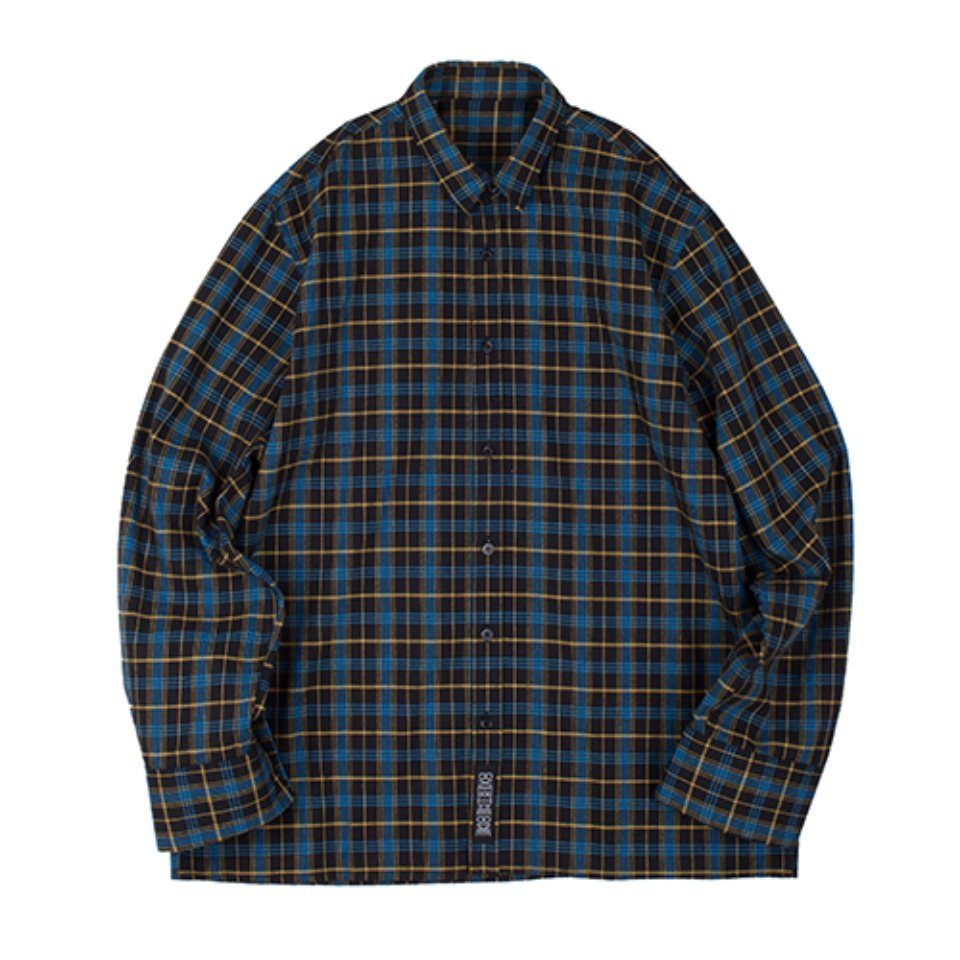 [OVERTHEONE][122]SIGNATURE CHECK PATTERN SHIRTS