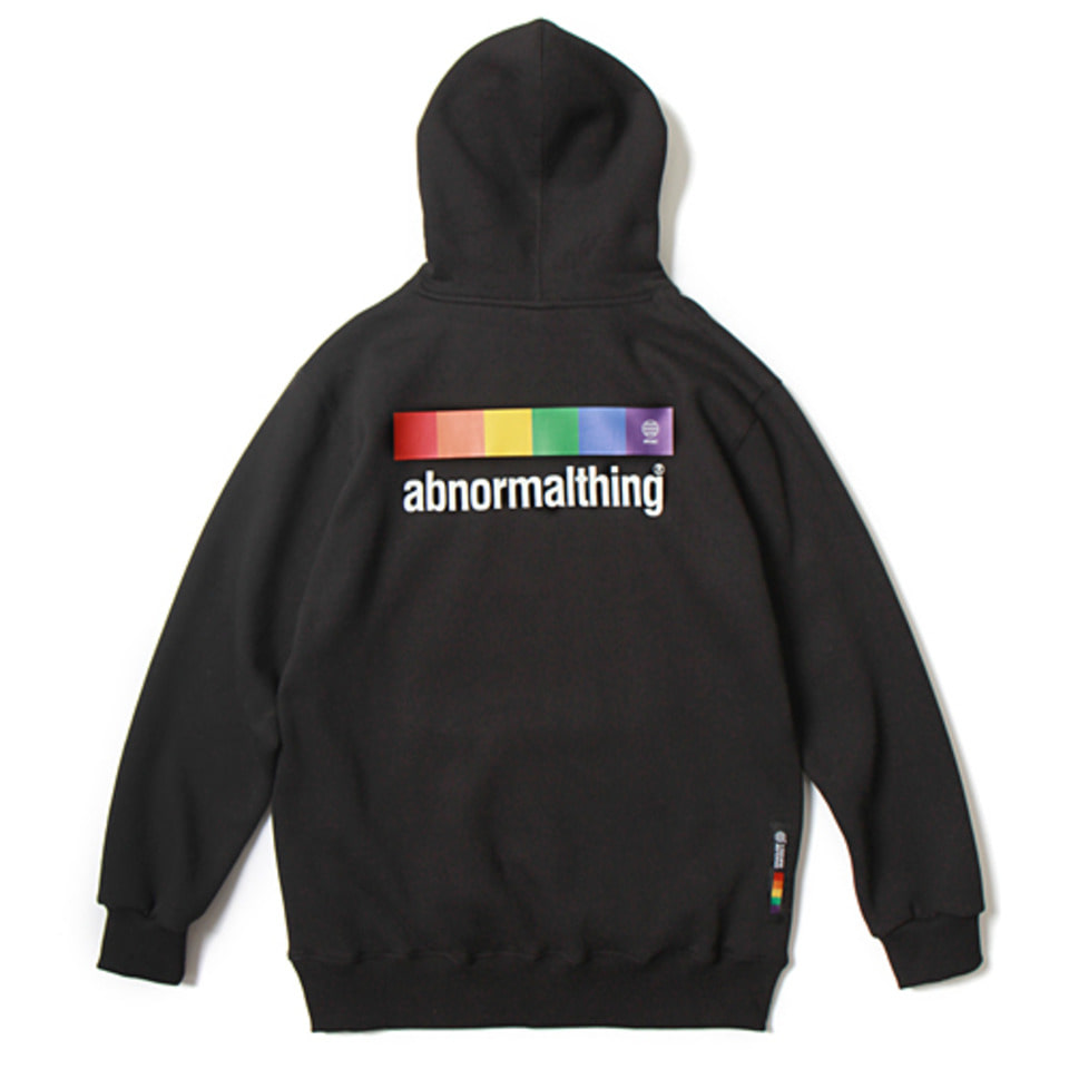 [앱놀머씽] 18 Abnormal Rainbow Hood (Black)