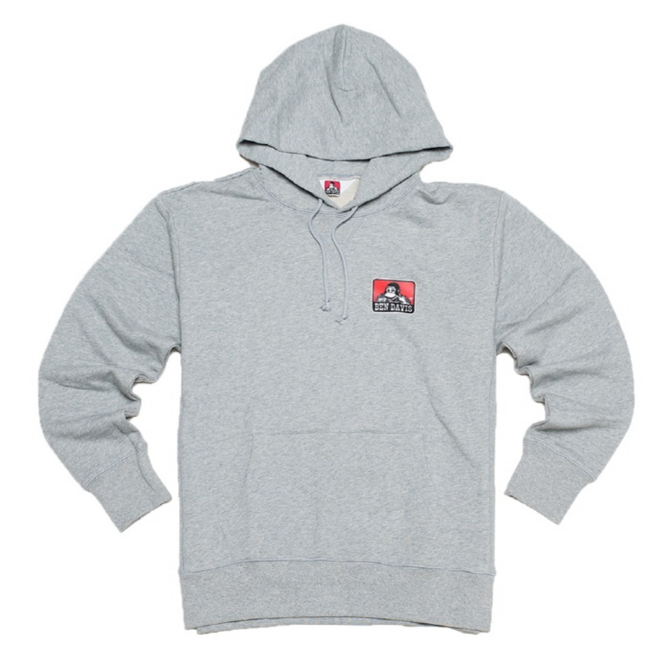 [Ben Davis] PRINT SWEAT SHIRTS - H-GRAY