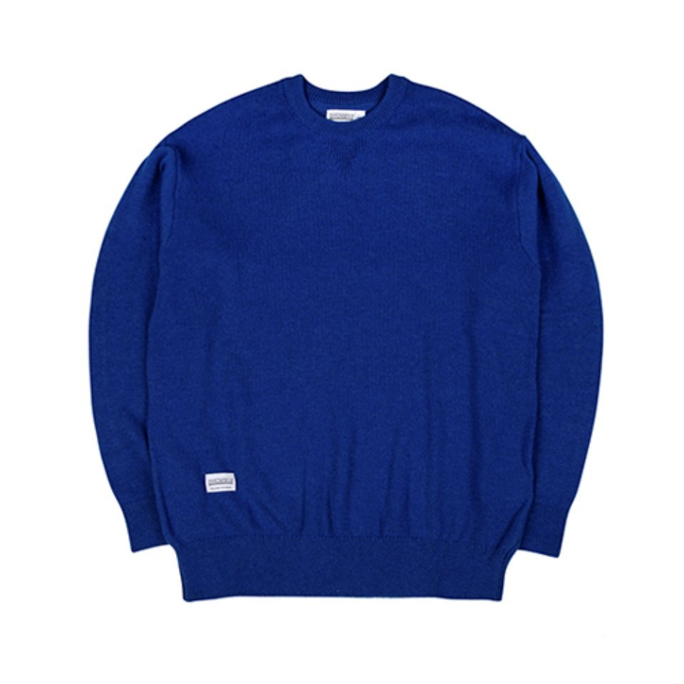 [하운드빌]HDVL LOOSE FIT knit wear blue
