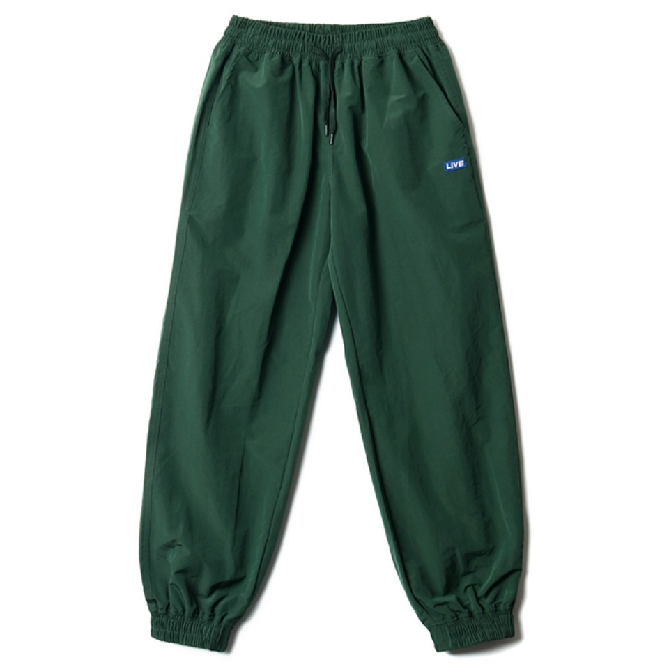 [NP] RIB TRACK PANTS DARK GREEN (NP18A063H)