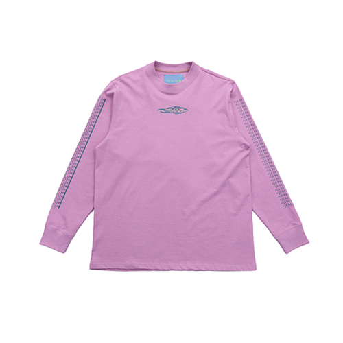 [AJOBYAJO FINK LABEL] Tribal Long Sleeve T-Shirt [Pink]